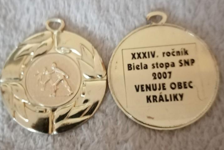 Medaily BS SNP Kraliky2007