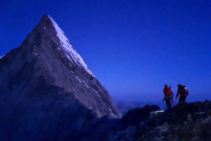 Nastup na hreben Eigeru