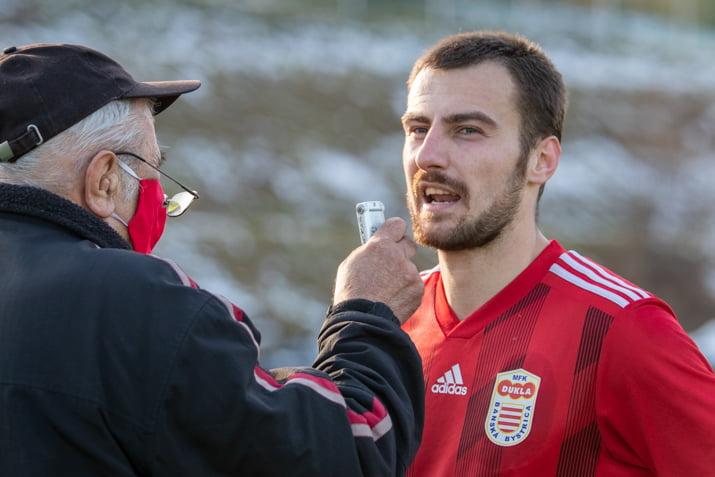 Miladin Vujošević po zápase s Dubnicou dňa 20. februára 2021