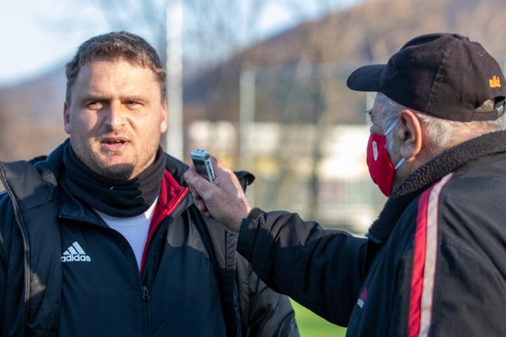 Peter Jakuš po zápase s Dubnicou dňa 20. februára 2021
