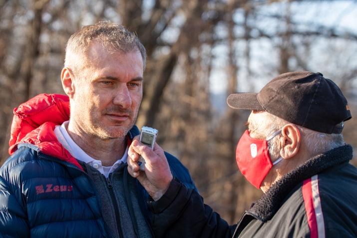 Stanislav Varga po zápase s Dubnicou dňa 20. februára 2021