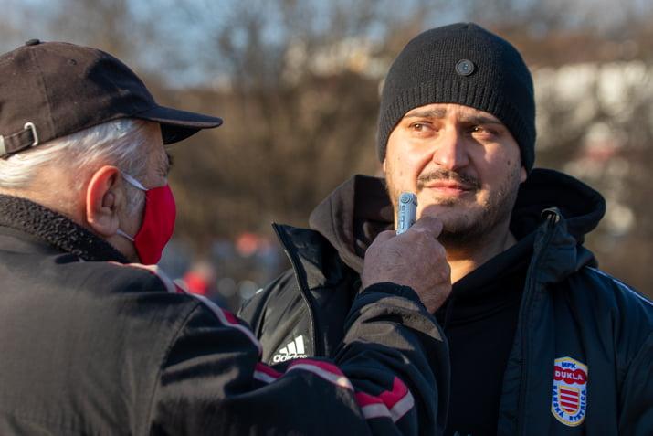 Peter Krnáč po zápase s Dubnicou dňa 20. februára 2021