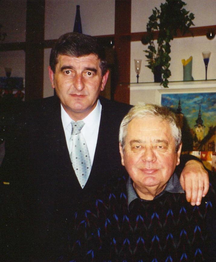 Lubo Janik a Karol Polak